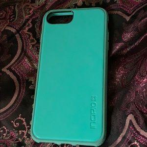 iphone 7/8 teal hard phone case